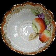 Luster Decorated Fruit Bowl, Japan