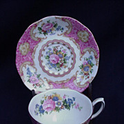 Royal Albert Lady Carlyle English Bone China Cup and Saucer