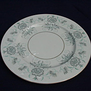 Castleton China Dinner Plate, Caprice Pattern