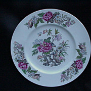 Wedgwood Dinner Plate, Cathay, English Bone China