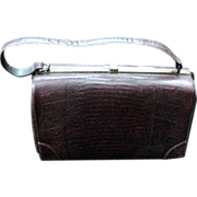 1950s Lizard Purse, Made by Sterling