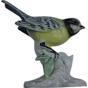 Porcelain Bird on Branch