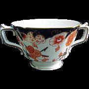 Twelve Royal Crown Derby Bouillon Cups, Imari Pattern, 1930s