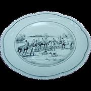 11 Royal Cauldon Hunt Scene Plates