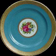 12 Charles Ahrenfeldt French  Limoges Porcelain Dinner Plates