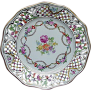 "Schumann ""Empress"" Plate, Bavaria, Germany, U.S. Zone Mark"