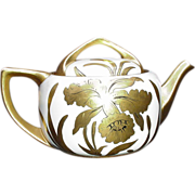 Golden Orchid Teapot, Stouffer Fine China