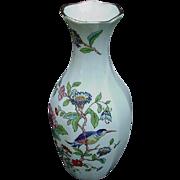 Aynsley Fine English Bone China Vase, Pembroke Pattern