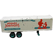 Howard Johnson's Famous Ice Creams Trailer Toy by Winross USA, 1973