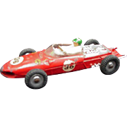Dinky Diecast Toy Racer, Ferrari, # 242 Made in England