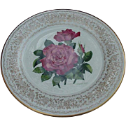 Gorham Rose of the Year Plate, Spellbinder, by Frank Bly