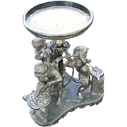 Fabulous Wilcox Quadruple Plate Cupid Bowl Base