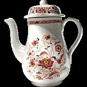 Wedgwood Coffee Pot, Kashmar Pattern