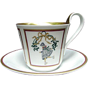 Bing & Grondahl Christmas Collection Cup and Saucer