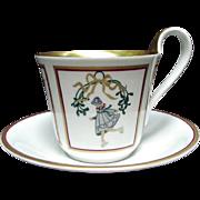 Bing & Grondahl Christmas Collection Cup and Saucer