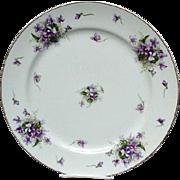 """Rossetti Vintage 12"""" Chop Plate, Spring Violets, Japan"""
