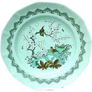 "Adams Calyx Ware ""Chusan"" Plate, English Ironstone"