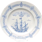 Shelley English Bone China Bermuda Founders' Plate