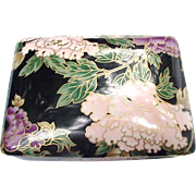 Fitz and Floyd Card Box, Peonies