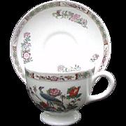 Wedgwood Kutani Crane Cup and Saucer