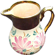 Wade Lusterware Pitcher, Hand-Painted, England