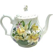 Floral Bouquet Decorated Teapot by Churchill