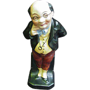 Vintage Figurine of Dickens' Mr. Pickwick, Marked Germany