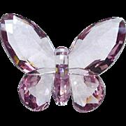 Pink Crystal Swarvorski Butterfly