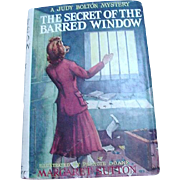 The Secret of the Barred Window by Margaret Sutton, Grosset & Dunlap, 1943