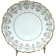 Five J. Pouyat, France, Limoges Dessert or Salad Plates