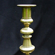 19th C. Brass Candlestick