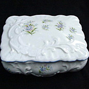 Fine Bone China Box by Queen's, Staffordshire, England