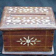 Hand-Made Box, Bone Inlay Designs