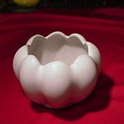 Van Briggle White Matte Glaze Vase