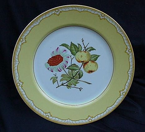 Georges Briard Dinner Plate, Somerset Pattern, Yellow Floral