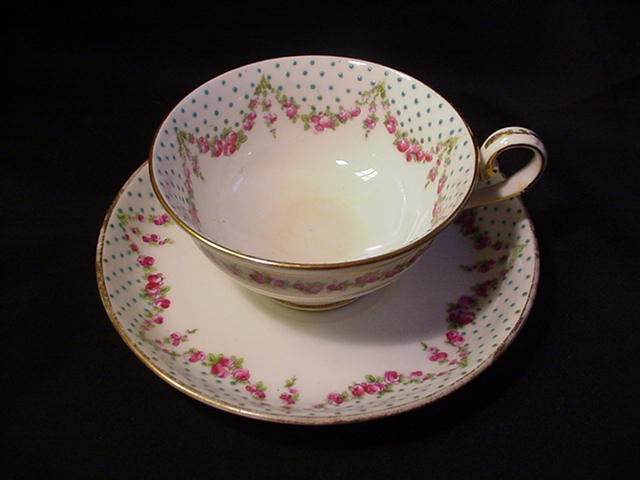 George Jones Crescent China Cup and Saucer