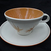 Iroquois True China Informal Cup & Saucer by Ben Seibel