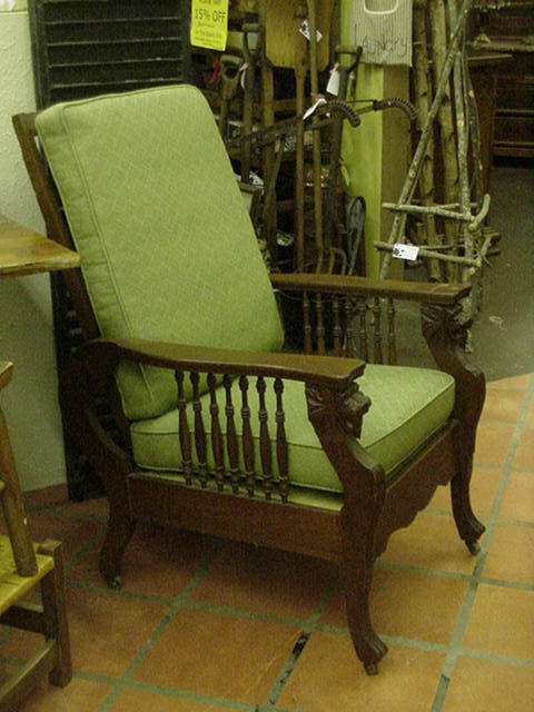 Morris Type Reclining Chair By Cooke Amp Sons 1903