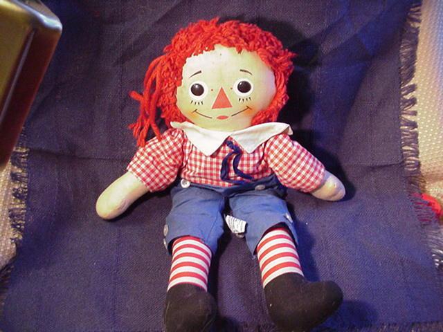 Raggedy Andy Rag Doll by Knickerbocker
