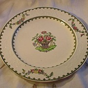 Wedgwood Vienna Salad Plate, Embossed Border