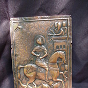 Copper Plate of St. George Slaying the Dragon