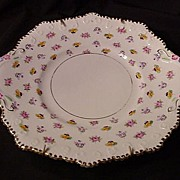 Royal Staffordshire Cake Plate, Bone China, England