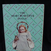 "Madame Alexander ""Little Dolls Vol. I"" Reference Book, 1st Ed. 1976"