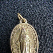 Holy Mary Religious Medal, Early 1900s