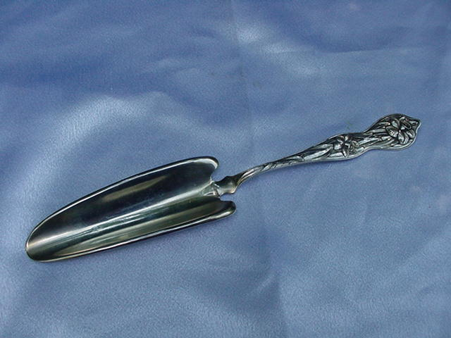 Sterling Jelly Server, Daffodil Pattern, Watson Silver Co.