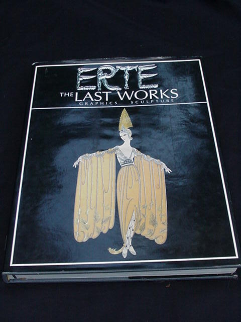 Erte Book, Photos of Many Sculptures and Artwork by the Artist