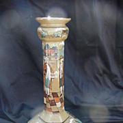 Buffalo Pottery Deldare Ware Candlestick