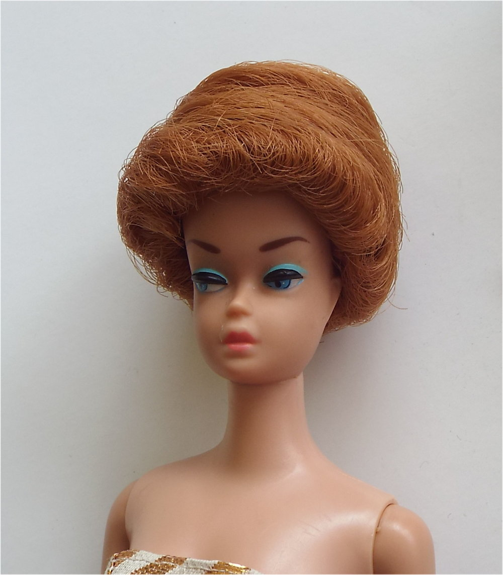 Vintage Mattel Fashion Queen Barbie Doll With 3 Wigs SOLD
