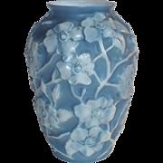 Consolidated Art Glass Large Dogwood Vase