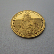22kt Gold Vintage Apollo Eleven Commemorative Coin